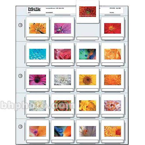 Print File Archival Storage Page for Slides 050-0275