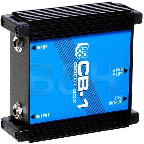 Pro Co Sound  CB-1 Direct Box CB1