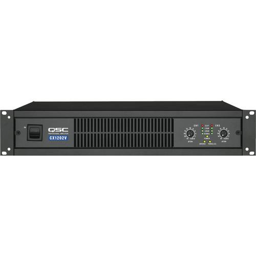 QSC CX-1202V 2 Channel Direct Output Power Amplifier CX1202V
