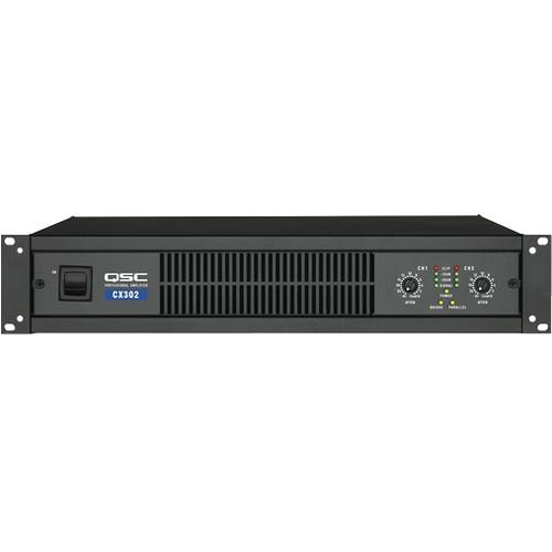 QSC CX-302 2-Channel Direct Output Power Amplifier CX302