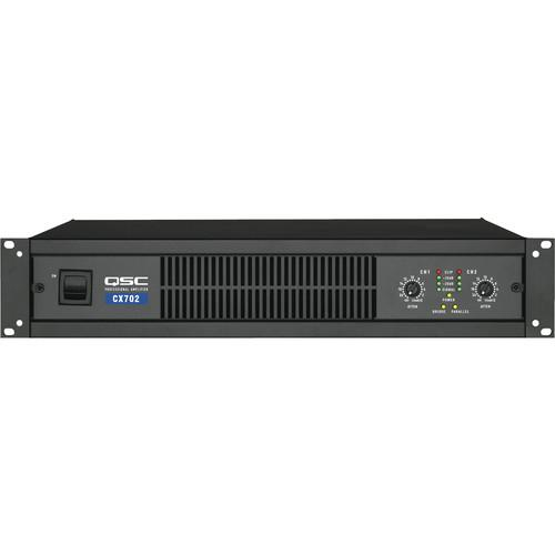 QSC CX-702 2 Channel Direct Output Power Amplifier CX702