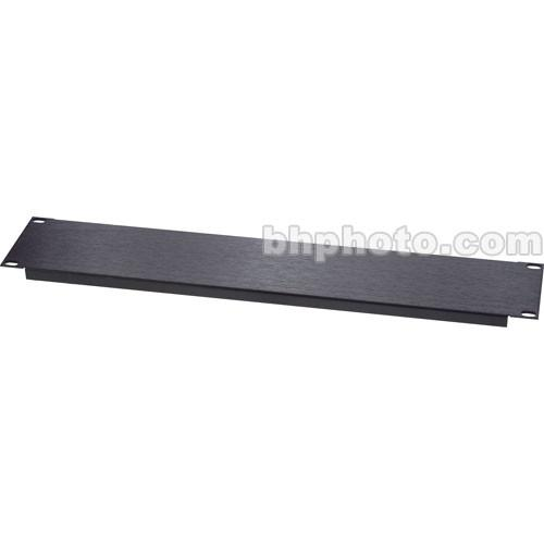 Raxxess Aluminum Blank Panel, Flanged with 1-Space AFG-1