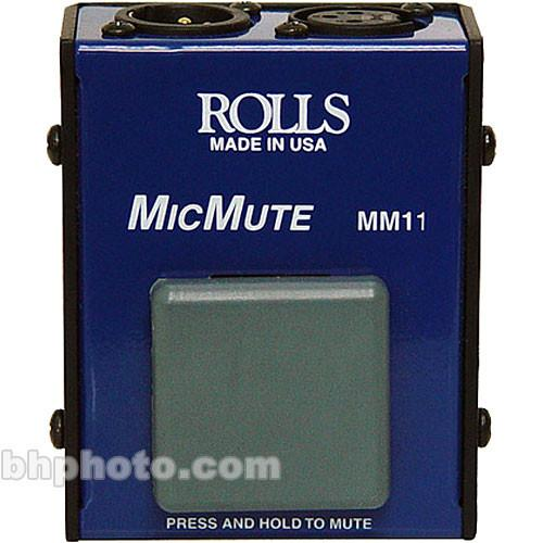 Rolls MicMute - In-Line Momentary Microphone Mute Switch MM11