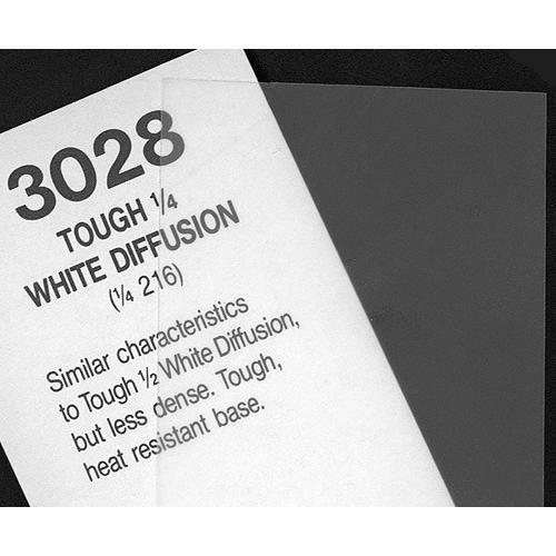 Rosco #3028 Filter - 1/4 Tough White Diffusion - 101030284825