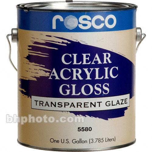 Rosco  Clear Gloss Acrylic Glaze 150055800128
