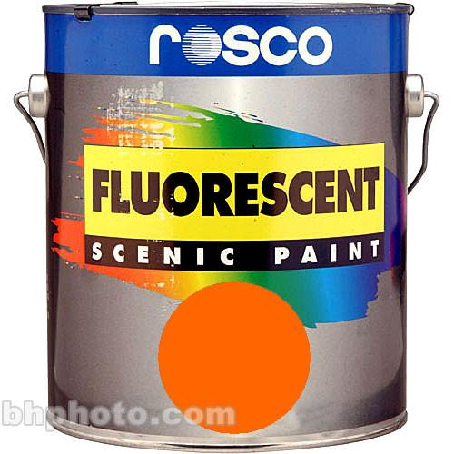 Rosco  Fluorescent Paint - Orange 150057810032