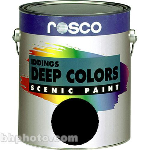 Rosco Iddings Deep Colors Paint - Black 150055520032