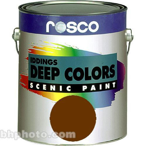 Rosco Iddings Deep Colors Paint - Burnt Umber 150055540032