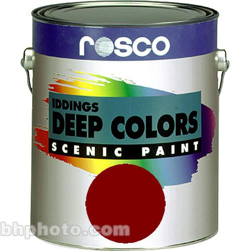 Rosco Iddings Deep Colors Paint - Dark Red 150055610032