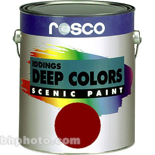 Rosco Iddings Deep Colors Paint - Dark Red 150055610128