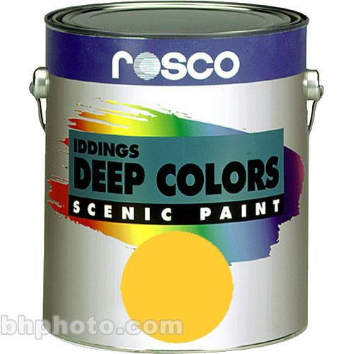 Rosco Iddings Deep Colors Paint - Golden Yellow 150055670032