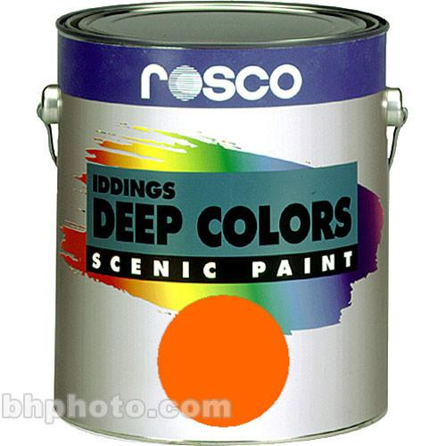 Rosco Iddings Deep Colors Paint - Orange 150055630128