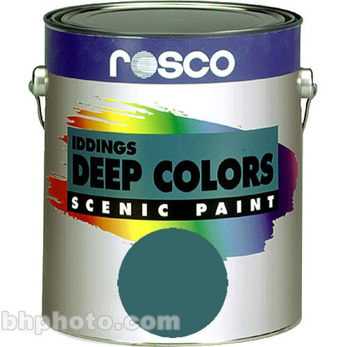 Rosco Iddings Deep Colors Paint - Turquoise Blue 150055700128