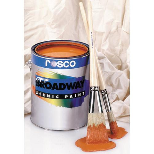Rosco Off Broadway Paint - Fire Red - 1 Gal. 150053600128