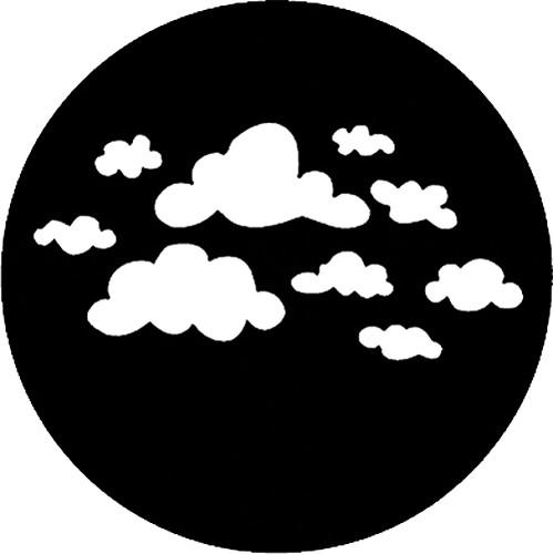 Rosco Standard Steel Gobo #78169A Childish Clouds 250781691000