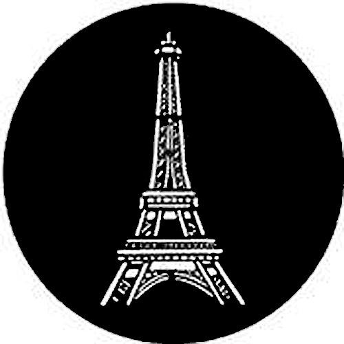 Rosco Steel Gobo #7305 - Eiffel Tower 250773050860