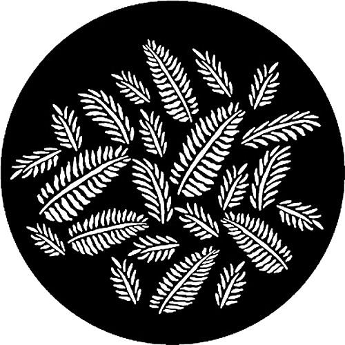 Rosco Steel Gobo #7593 - Ferns - Size E 250775930375