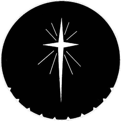 Rosco Steel Gobo #7707 - Star of Bethlehem - Size B 250777070860