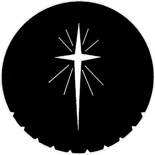 Rosco Steel Gobo #7707 - Star of Bethlehem - Size M 250777070660