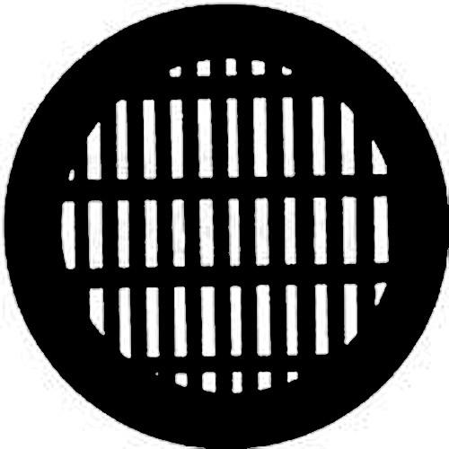 Rosco  Steel Gobo #7756 - Grating 250777560860