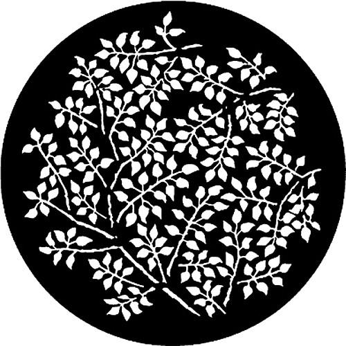 Rosco Steel Gobo #7864 - Branching Leaves - Size A 250778641000
