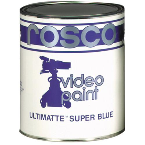 Rosco Ultimatte Video Paint - Super Blue 150057220640