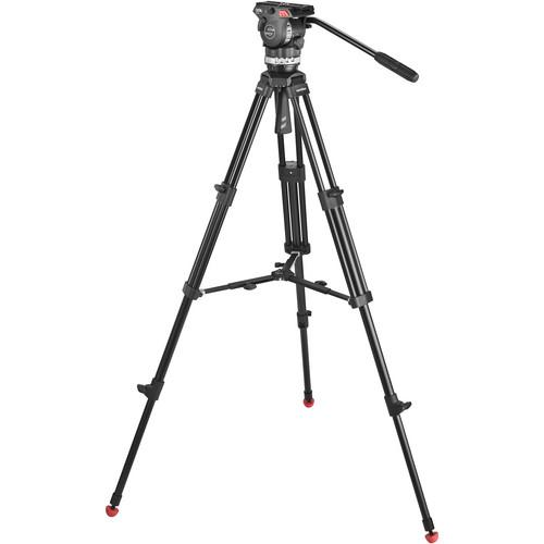 Sachtler Ace M Fluid Head with 2-Stage Aluminum Tripod 1001
