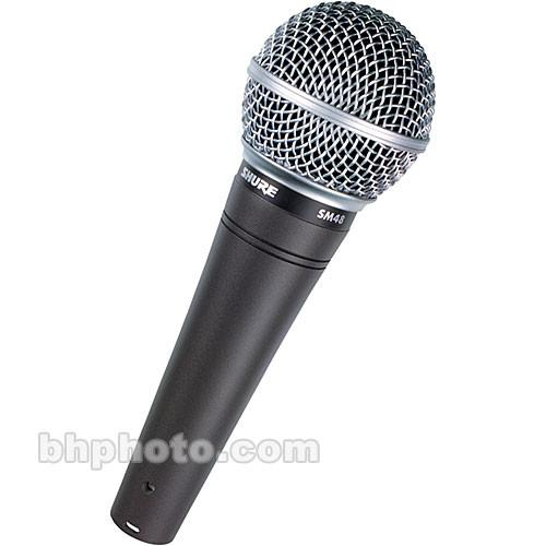 Shure  SM48-LC - Cardioid Dynamic Mic SM48-LC