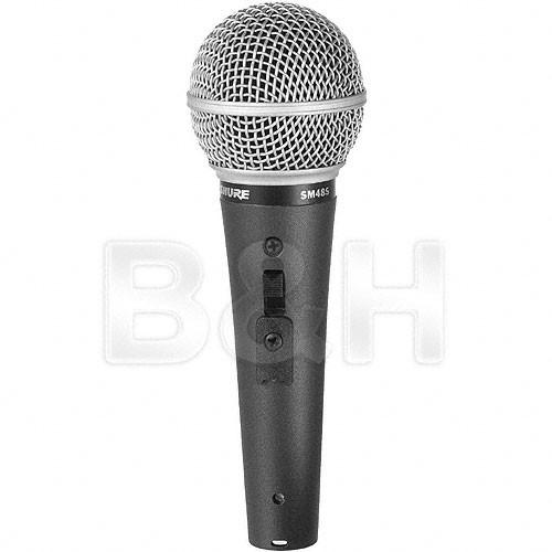 Shure SM48s-LC - Cardioid Dynamic Mic with Switch SM48S-LC