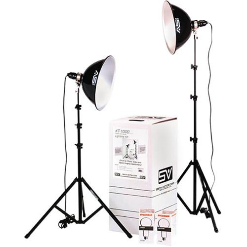 Smith-Victor KT1000U 2-Light 1000 Watt Intermediate 401432