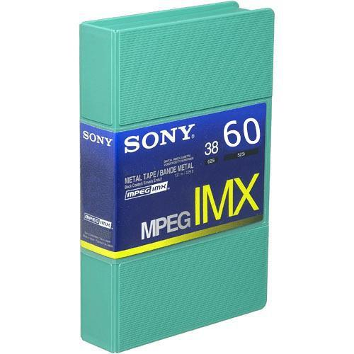 Sony BCT60MX MPEG IMX Video Cassette, Small BCT60MX
