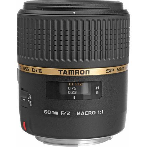 Tamron SP 60mm f/2 Di II 1:1 Macro Lens for Canon EF AFG005C-700