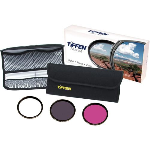 Tiffen 58mm Video Intro (DLX 3 Filter) Kit 58DFK3