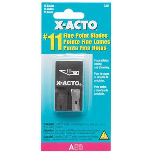 X-Acto X411 Single Edge Razor Blade (15 Pack) X411