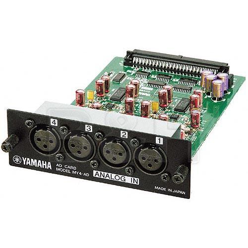 Yamaha  MY4AD 4 Channel Analog Input Card MY4AD