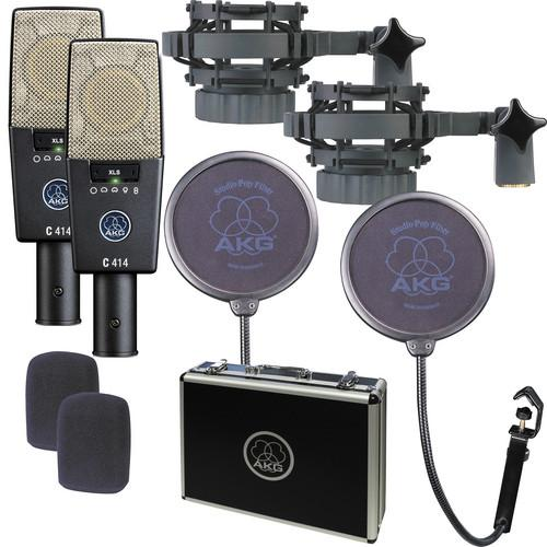 AKG C414 XLS ST Reference Multi-Pattern Condenser 3059Z00230