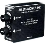 Allen Avionics Video Delay, Slide Switch Adjustment VRM1275