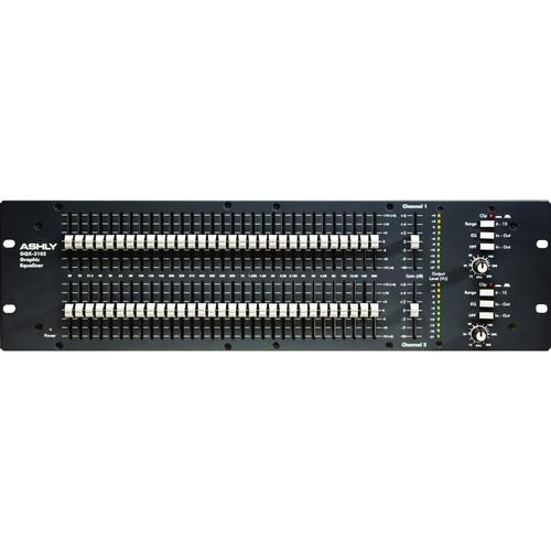 Ashly GQX-3102 - Dual Channel 31-Band Graphic Equalizer GQX-3102