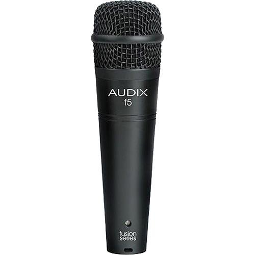 Audix f5 Fusion Series Hypercardioid Instrument Microphone F5
