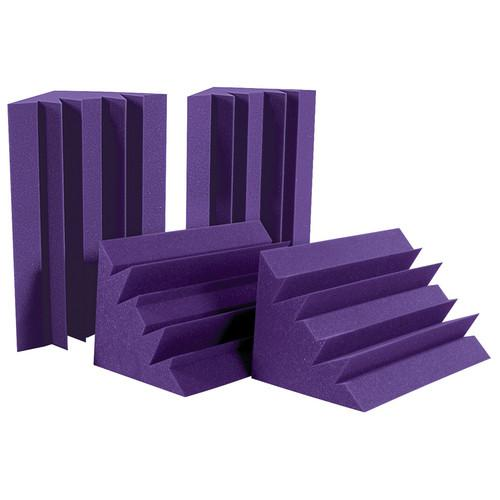 Auralex LENRD Bass Traps (Purple, 4 Pieces) LENPUR - HP