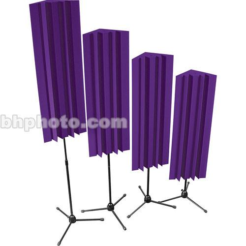 Auralex Stand-Mounted LENRD (Purple) - 4 Pieces S-MLENPUR