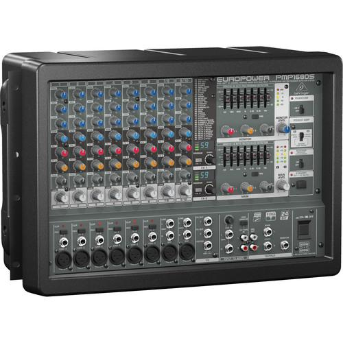 Behringer PMP1680S 10-Channel Powered Mixer PMP1680S