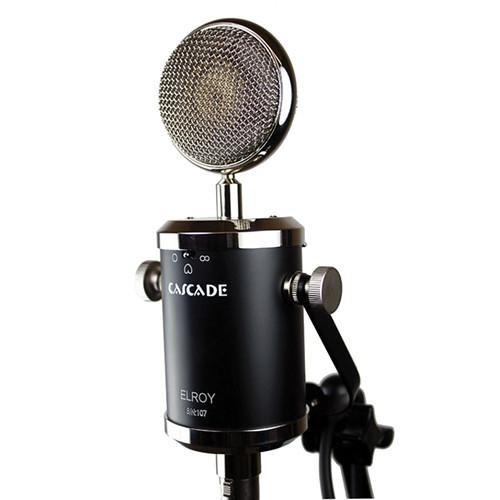 Cascade Microphones Elroy Multi-Pattern Tube Condenser 102