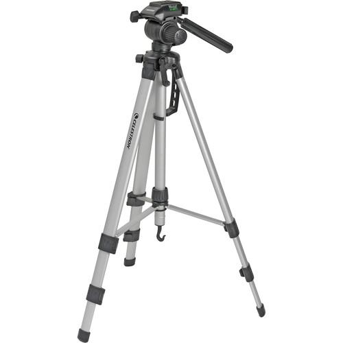 Celestron Photographic/Video Tripod w/ Quick Release 3-Way 93606