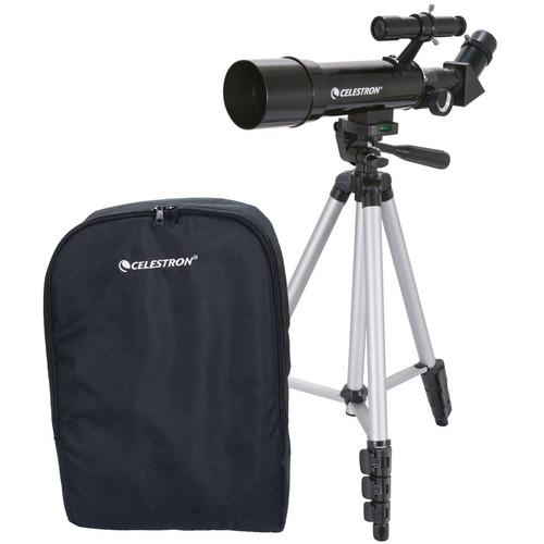 Celestron Travel Scope 50 Portable Telescope 21038