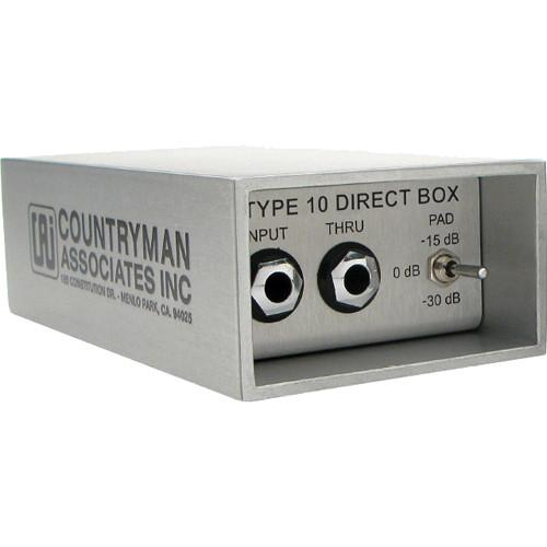 Countryman  Type 10 Direct Box - Active DI DT10
