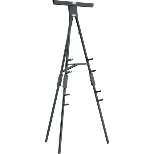 Da-Lite D305 Dual Purpose Easel, Black Powder Coated Finish