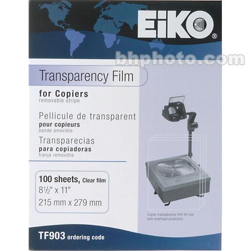 Dry Lam Transparency Film for Plain Paper Copier - 100 TF903