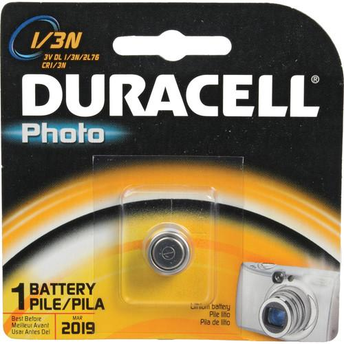 Duracell  Photo 1/3N 3V Lithium Battery DL1/3NBPK