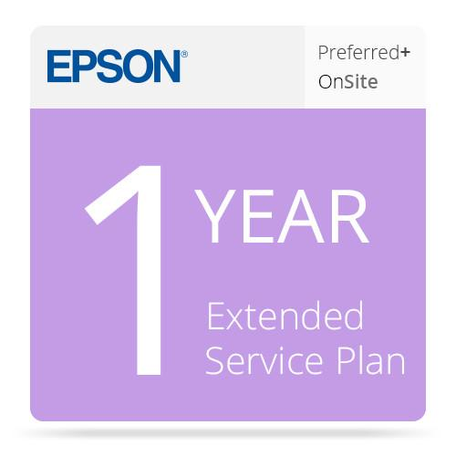 Epson 1-Year Preferred Plus Extended Service Plan EPP48B1